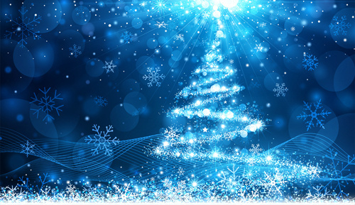 dream_christmas_tree_blue_background_575881